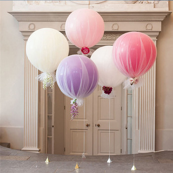 1pc 36 Inches Balloon Ball Helium Inflable Big Latex Balloons for Birthday Wedding Baby Shower Party Chirstmas Home Decoration