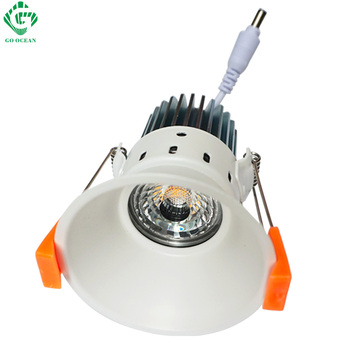 GO OCEAN downlights led ceiling projector 12W Dimmable Recessed Downlight LED Downlights Spot Ceiling Lamp Down Light