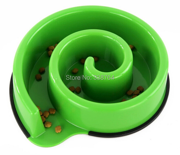 Pet dogs feeders/ prevent being choked/ bowl silicone feeding bowls / Slow eat pet bowls