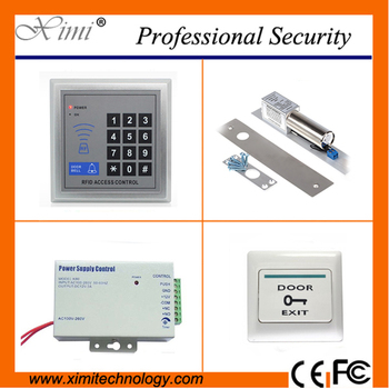 Price single door access control with electric lock exit button card access control system without software