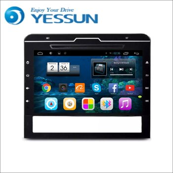 YESSUN Toyota Land Cruiser 200 2016 Için Android Araba GPS Navigasyon DVD oynatıcı Multimedya Ses Video Radyo Multi-Touch ekran