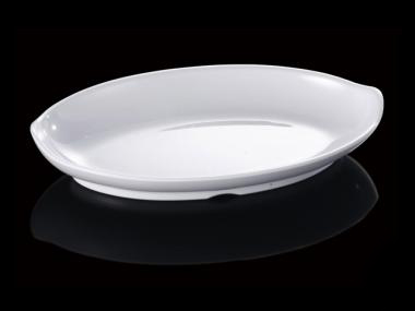 New Fashion Melamine Dinner Plate Ship Shape Plate With Hot Pot Restaurant A5 Melamine Plate Melamine Tableware